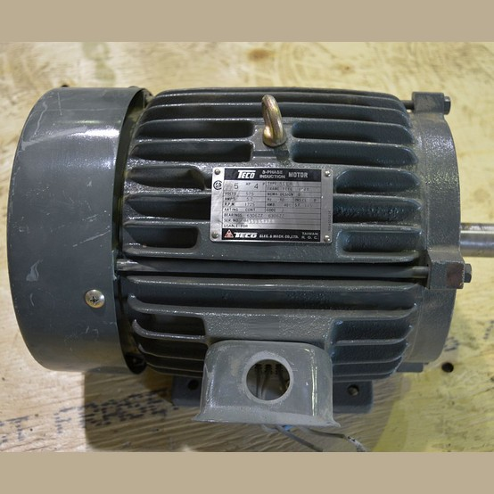Used Teco Westinghouse 5 Hp Motor For Sale