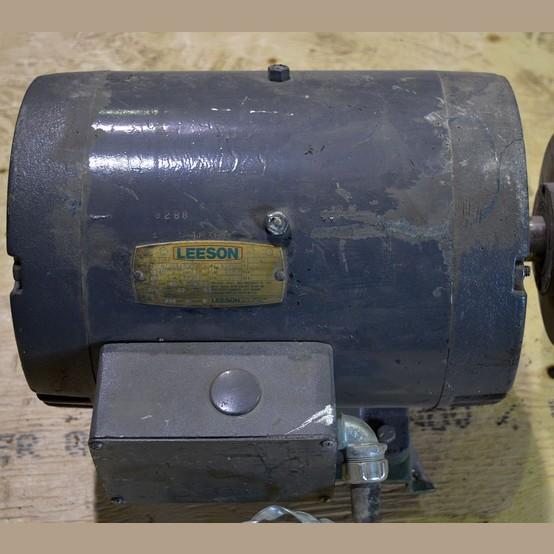 Used Leeson 10 Hp Motor For Sale