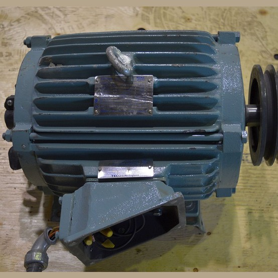 Used Teco Westinghouse 10 Hp Motor For Sale