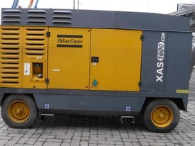 Atlas Copco XASE1600CD Air Compressor