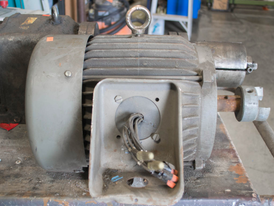 Toshiba 7.5 HP Induction Motor