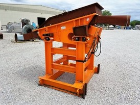 Eriez 32 in x 7 ft Hi-Vi Vibrating Pan Feeder