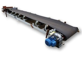 Power Pack 30 in. x 23 ft. Belt Conveyor