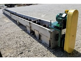 16 in. x 34.5 ft Industrial Screw Conveyor