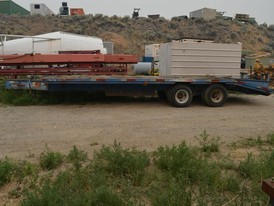 Big Tex 8.6 X 32 Flat Deck Trailer With Beaver