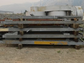 8 in. x 6.5 in. Galvanized Steel H Beam