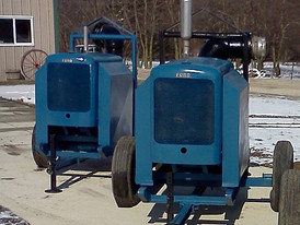 2 - 8 in. Gorman Rupp 88A2 Trash Pumps Powered by Ford F300 Gas 6 Cylinder Motors