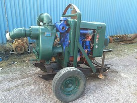 Gorman Rupp 6 in Diesel Trash Pump