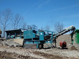 Brown Lenox 4226 Jaw Crushing Plant