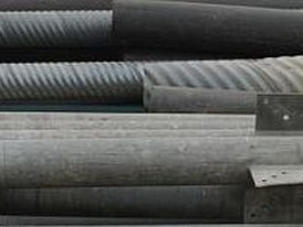 6 in. X 10 ft long  Galvanized Steel Pipe