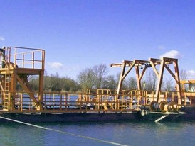 Winter 11 Meter Suction Dredge