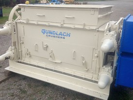 Gundlach 4024 Double Roll Crusher