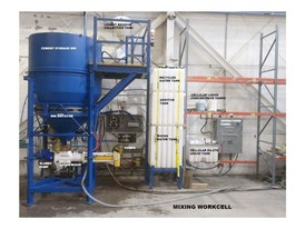Continuous 150 cu. ft. Cement Mixing System