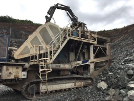 Kleeman Reiner MC 125 Z Jaw Crusher