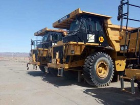 2009 CAT 773D Rock Trucks