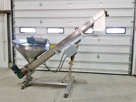 All-Fill Sanitary 6 in x 8 ft Screw Feeder