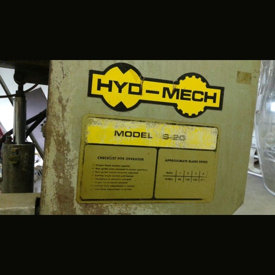 hyd mech s20 owners manual
