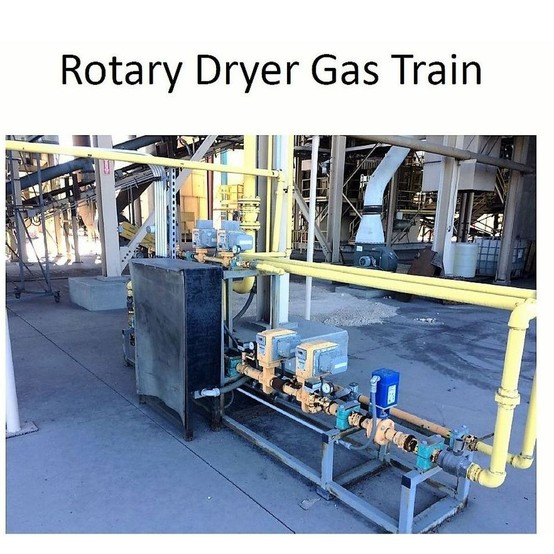 Feeco International Rotary Drum Dryer Package For Sale