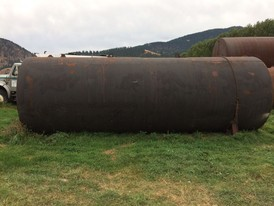 7,500 Gallon Steel Tank