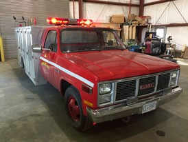 1986 GMC Sierra First Response Emergency Vehicle