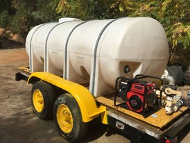 1200 Gallon Towable Water Trailer