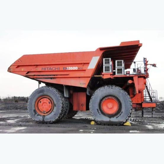Hitachi ZX690LCH-6 Hydraulic Excavator Hitachi Truck Manufacturing: Hitachi EH3500AC-II Rock Truck For Sale