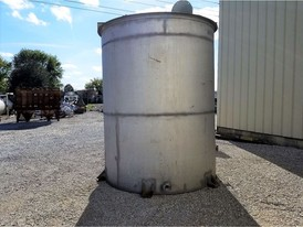 2500 Gallon Stainless Steel Tank