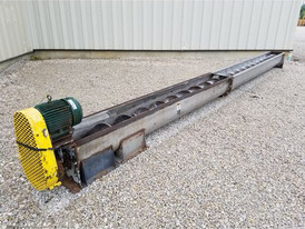 12 in. x 22 ft Screw Conveyor