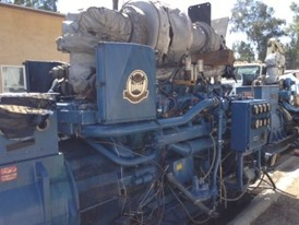 Cat 650 kW Generator Set