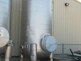 Unused 4000 Gallon Pressure Tank