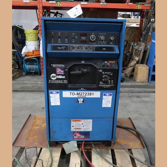 Miller Tig Welder For Sale >> Miller Syncrowave 351 Tig Welder For Sale Used Miller