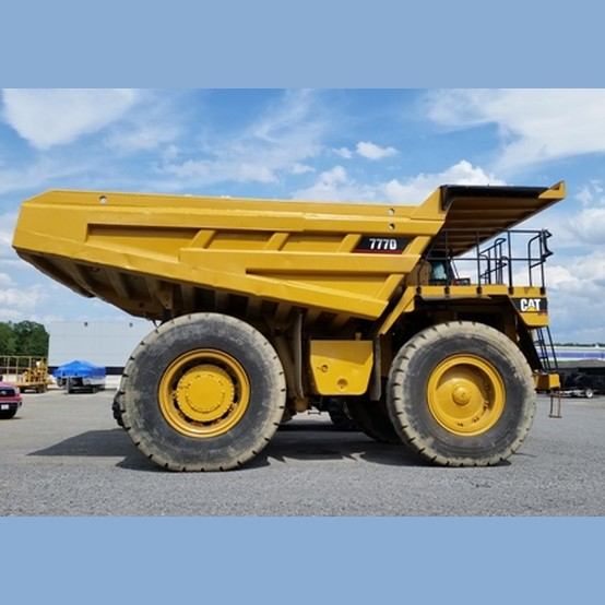 2001 CAT 777D Truck for sale  used rock trucks for sale