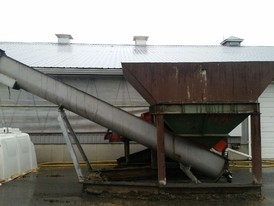 20 in. x 20 ft. Stainless Steel Auger with Feed Hopper