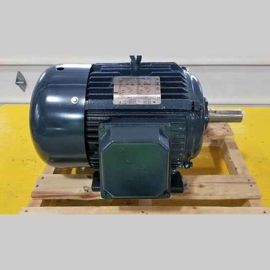 New marathon electric blue chip 15 hp motor for sale used for Used electric motors for sale