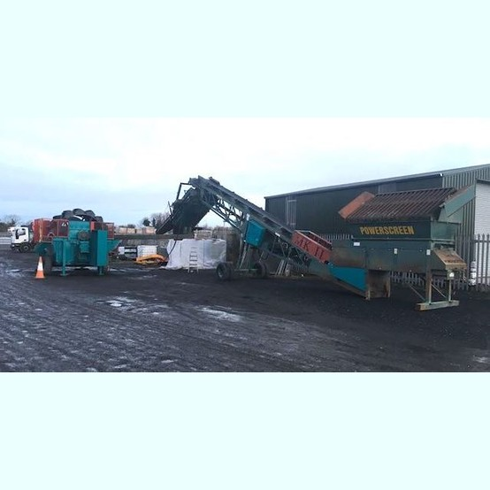 Powerscreen Mark II Wash Plant for sale | used Powerscreen