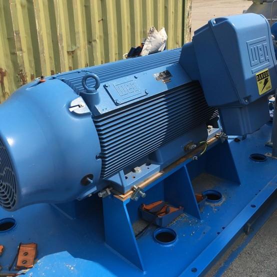 Weg 450 hp induction motor for sale used weg 450 hp for 1 2 hp induction motor