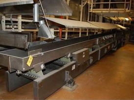 FMC FoodTech 24 in. x 80 ft. Vibratory Conveyor