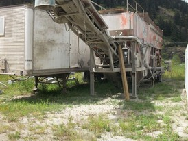 Ross 100 Portable Cement Batch Plant