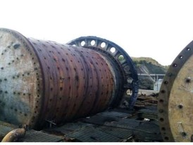 Morgardshammar 5.2M x 6.6M (17 ft x 21.5 ft) SAG Mill