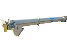 "Goodman 16"" Dia X 18' Long Inclined Screw Conveyor"