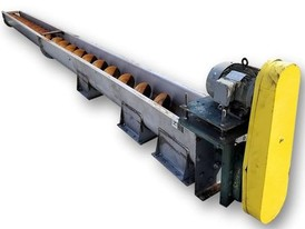 "12"" dia. X 24' long Industrial Screw Auger Conveyor"