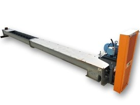 "10"" dia. X 20' Long Industrial Screw Auger Conveyor"
