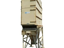 1,600 CFM DCE Dalamatic Automatic Reverse Jet Fabric Filter Dust Collector