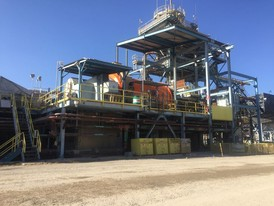 5000 TPD Silver and Gold Ore Processing and Recovery Plant with Metso Filters for Dry Stack Tailings