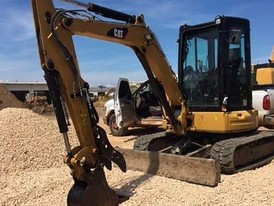 2015 Caterpillar 304E2 CR Mini Excavator
