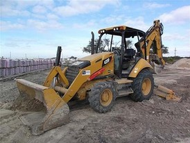 2013 Caterpillar 420F Loader Backhoe