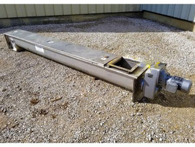 "9"" Dia. x 10' Long Screw Auger Conveyor"