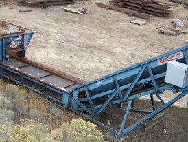 Duraquip 36 in. x 24 ft.  Recycling Conveyor