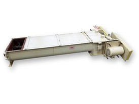 "9""ø x 6' J.W Todd Twin Screw Conveyor"