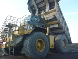 2008 Caterpillar 793D Rock Truck